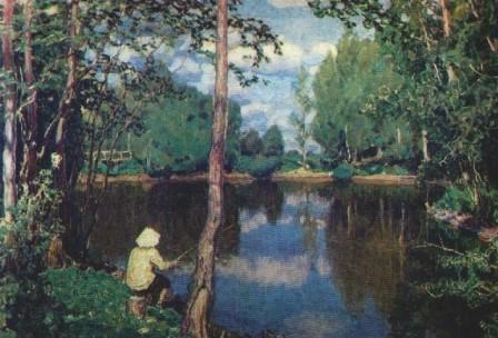 Царский пруд. Демьяново. 1915